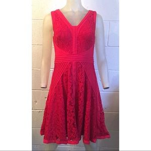 Tada should Shoji Red Dress, Size 8P